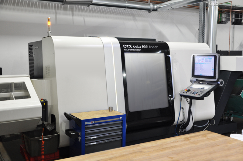Gildemeister CTX beta 800 linear